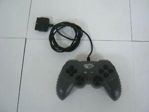 PS2 PLAYSTATION PAL DARK GREY MAD CATZ GAME PAD