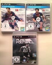 FIFA 14 2014 + Fifa 13 2013 FOOTBALL + Pure Football Collection ps3 Jeux