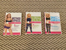 Tracy Anderson Exercise Dvds - Set Of 3