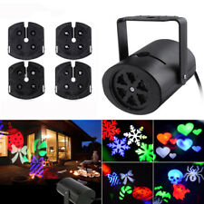 Moving LED Outdoor Landscape Laser Projector Light Snowflake Garden Xmas Party