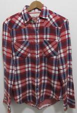 Rag & Bone de Nueva York Estilo Occidental Camisa a Cuadros Talla Mediana! bonito