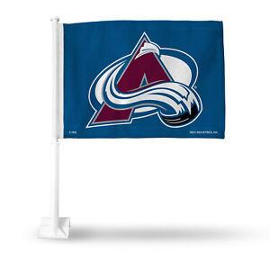 Flags - Colorado Avalanche Car Flag