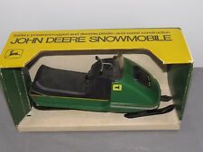 Vintage John Deere 400 Snowmobile Battery Operated Toy Normatt NICE BOX 1/10
