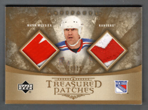 2005-06 UD Artifacts Dual Patch Mark Messier #/15 New York Rangers