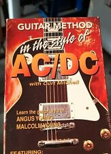 Guitar Method In The Style Of ACDC (VHS)