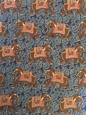 Fabric 100% cotton Jane Makower Indian Elephant