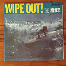 SURFING SURF VINYL LP SURF WIPE OUT THE IMPACTS