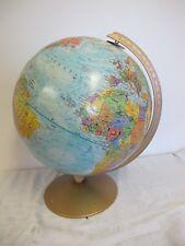 "12"" Globe Metal Base Replogle World Nation Series Meredith Corp"