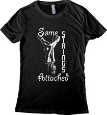 Shibari Rope Bunny Rigger BDSM Shirt - Some Strings Attached - Women's T-shirt