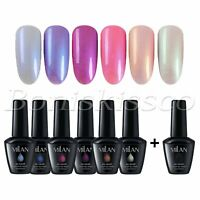 6 Color 15ml UV/LED Gel Nail Polish Set DIY Nail Art Mermaid Cat Eye Gel Varnish