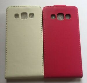 Vertical style PU leather flip phone case, cover to fit Samsung Galaxy A3 (2015)