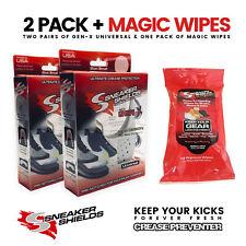 (BEWARE OF FAKES) Sneaker Shields™ (2 Pairs + Wipe) Gen-X Universal + Magic Wipe