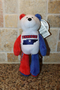 Limited Treasures State Quarters Coin Teddy Bear Tennessee #16 Plush