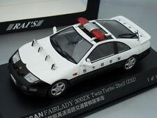 """1/43 Rai's NISSAN FAIRLADY 300 ZX TWIN TURBO """"TOCHIGI"""" PATROL CAR 2007"""