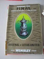 1972 FA Cup Final Arsenal v Leeds United 6.5.1972 @ Wembley