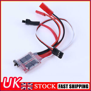 Mini 20A 2 KHZ ESC Brushed Speed Controller for RC Car Truck Boat Accessories UK