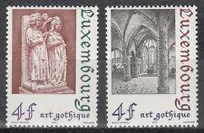 Luxembourg / Luxemburg 887-888** Architektur - Gotik