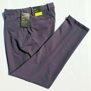 Nike Vapor Flex Slim Fit Men's 30x34 Dark Gray Golf Pants BV0273-015