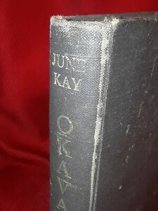 OKAVANGO HC June Kay 1962 1st print edition safari tiger lion botswana africa