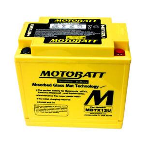 MotoBatt AGM Battery 2002-2012 fits Kawasaki KVF 650 KVF 750 Brute Force