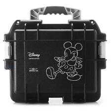 Invicta 3 Slot Impact Hard Black Disney Mickey Dive Storage Collector Case-RARE