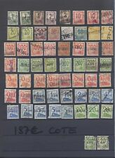 081017)...LOT DE PETITS COLIS POSTAUX.....COTE 187 EUROS