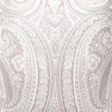 ROSE TREE Argento QUEEN COMFORTER SET 6pc Floral Paisley Jacquard TAUPE IVORY
