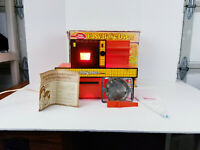 VINTAGE BETTY CROCKER EASY BAKE OVEN 1973 RED ORANGE MODEL w/ PAN INSTRUCTIONS