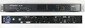 2 Channel 6500 Watts Professional Power Amplifier AMP Stereo GTD-Audio TN-350
