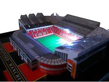 OLD TRAFFORD MODEL STADIUM WITH WORKING FLOODLIGHTS