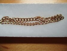 18ct (750) Gold Curb Bracelet 12 grams