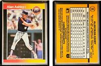 Alan Ashby Signed 1989 Donruss #88 Card Houston Astros Auto Autograph
