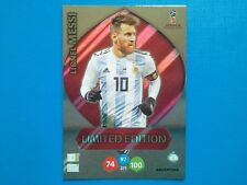 Panini Adrenalyn Russia 2018 Limited Edition Lionel Messi