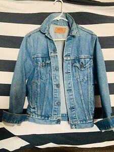 Levi's Denim Trucker Jacket Vintage Size Small