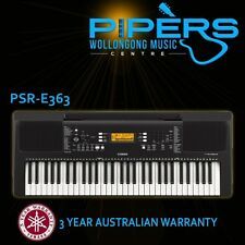 NEW YAMAHA PSRE363 61 NOTE KEYBOARD | 3 YEAR AUSTRALIAN WARRANTY | PSR-E363