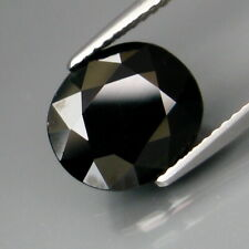 4.18 Carats Natural Midnight GREEN TOURMALINE for Jewelry Setting Oval Cut