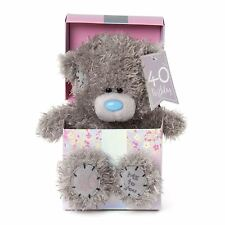 Me to You 40th Birthday Tatty Teddy Bear in Gift Box