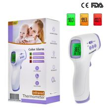 Medical IR Infrared Laser Digital Thermometer Thermal NO-CONTACT Forehead FDA