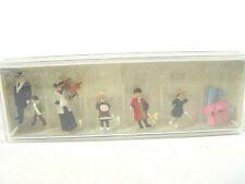 winterliche Passanten um 1900 - Preiser HO Figuren 1:87 - 12184  #E