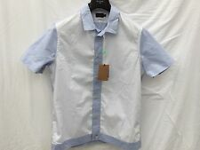 Paul smith 50s style shirt. wht/blu. taille med