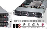 FREENAS 12 Bay Supermicro Server X10DRI-LN4+ 2x E5-2620 V3 48GB RAM 12GB/s HBA