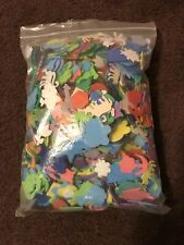 Lot Of Colorful Foam Shapes Pieces Peel & Stick Kids Crafts
