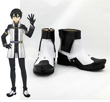 Sword Art Online Ordinal Scale Kirigaya Kazuto Cosplay Schuhe Costume Shoes Neu