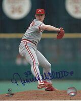 Norm Charlton 1990 World Series Champion Cincinnati Reds Signed 8x10 Photo COA