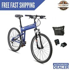 """New Montague Paratrooper Express 18"""" Mountain Folding Bike w/ Pedal & carry case"""