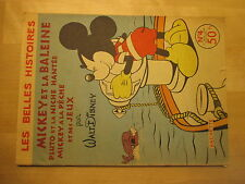 Les Belles Histoires de Walt Disney N°4, 1954 2ème série, Mickey et la baleine