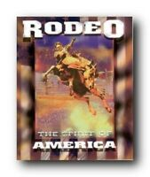"Western Cowboy Rodeo ""The Spirit of America"" Riding Horse Wall Art Print (16x20)"