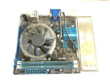 ASUS P8H61-I RM/SI ITX LGA1155 motherboard + i5 2400s + LOW PROFILE cooler + 4GB