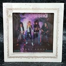 Cinderella Night Songs Carnival Prize Mirror Heavy Metal Band 6 X 6 Vintage 80s