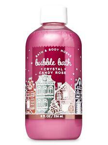 3 Bath & Body Works sparkling crystal candy rose sugar Bubble Bath 8 oz
